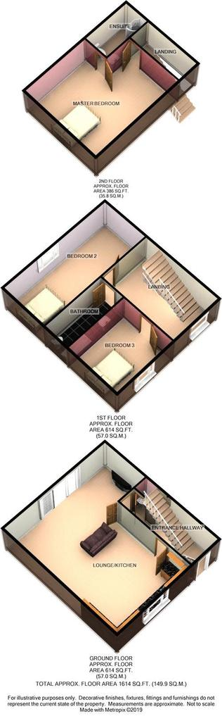 Floorplan 2 of 2: 3 d