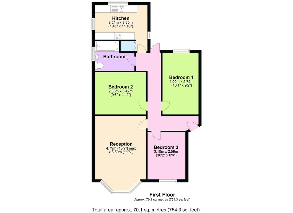 high mead  harrow 3 bed apartment for sale  u00a3270 000