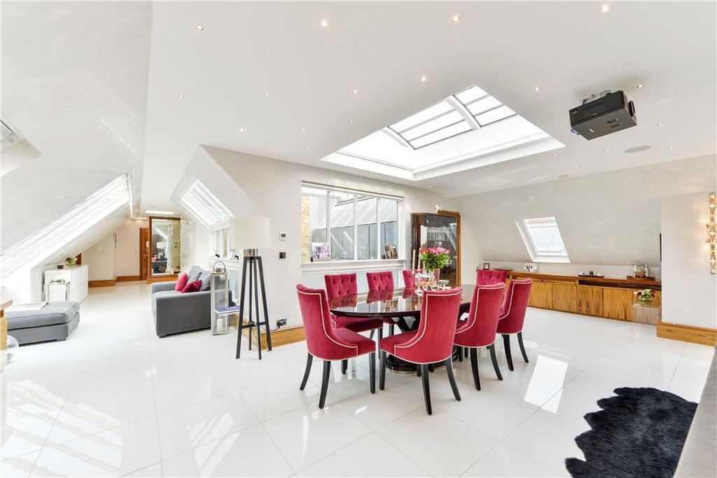 2 Bedrooms Penthouse Flat for sale in Drayton Court, Drayton Gardens, Chelsea, London, SW10