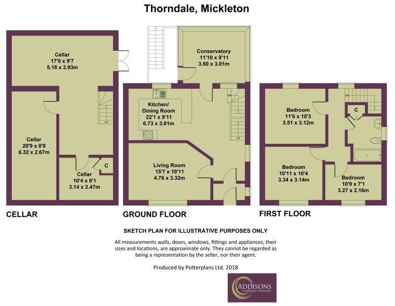Floorplan: Thorndale, Mickleton