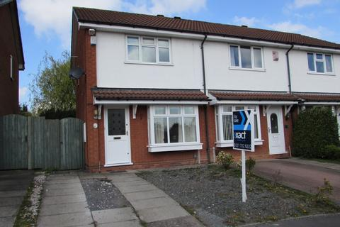 2 bedroom end of terrace house for sale - Shelsley Way, Solihull