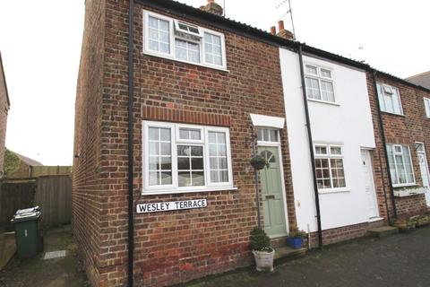 2 bedroom end of terrace house for sale - Wesley Terrace, Kilham, Driffield