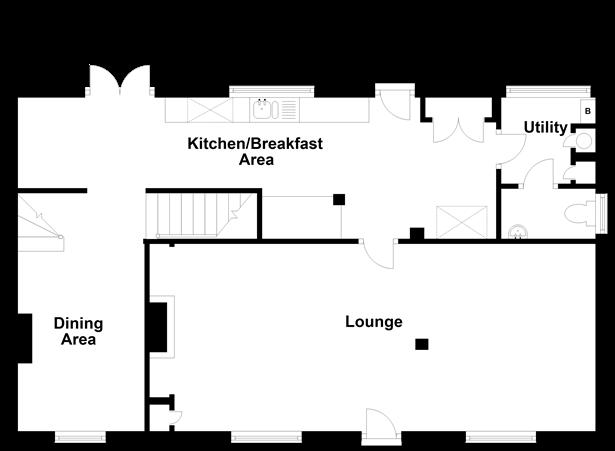 Floorplan 1 of 2: Split Level Ground Floor