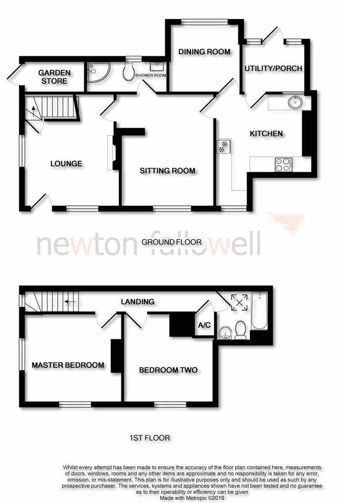 Floorplan: 'Haven Cottage': Floorplan