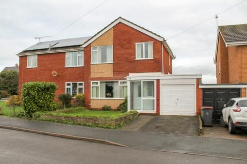 3 bedroom semi-detached house for sale - 27 Meadow View Road, Newport, Shropshire, TF10 7NL