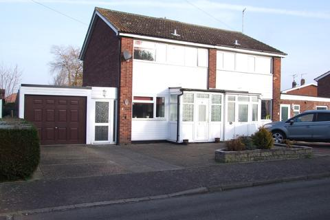 3 bedroom semi-detached house for sale - Andrew Close, Leiston