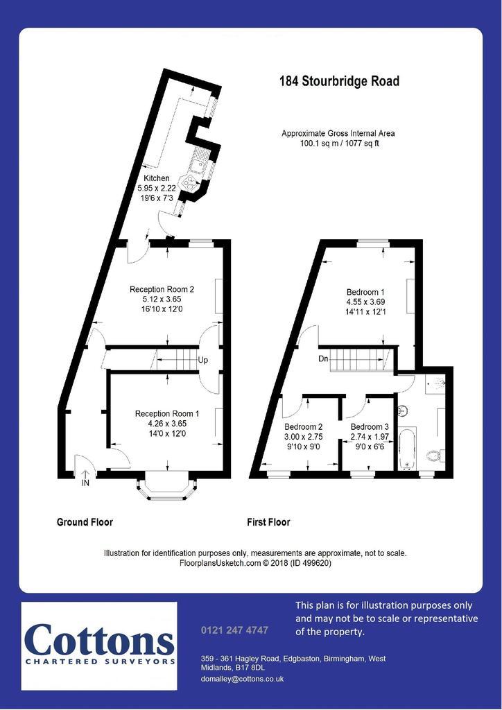 Floorplan: 184 Stourbridge Road