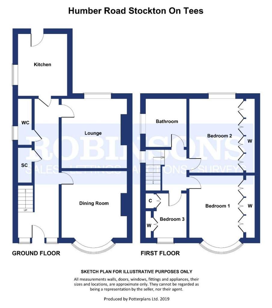Floorplan: Humber Road