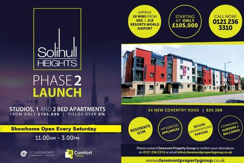 2 bedroom apartment for sale - B61 Solihull Heights