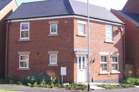 3 bedroom detached house for sale - Burdock Way, Desborough, Kettering, Northamptonshire