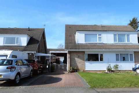 3 bedroom semi-detached house for sale - Emberton Close, Wigston