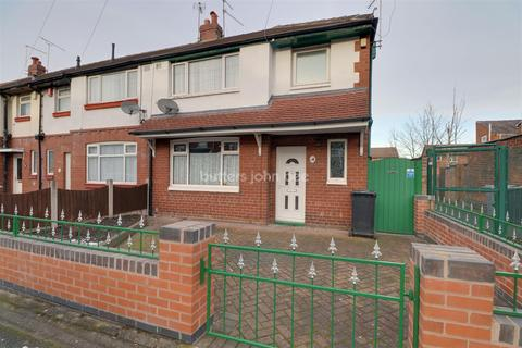 3 bedroom end of terrace house for sale - Fletcher Street, Crewe
