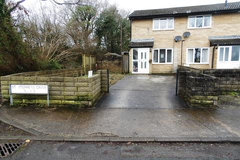 2 bedroom semi-detached house for sale - St. Stephens Drive, Pencoed, Bridgend, CF35 6JS