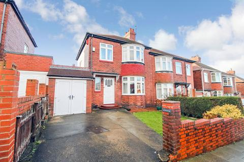 3 bedroom semi-detached house for sale - Jedburgh Gardens, Denton Burn, Newcastle upon Tyne, Tyne and Wear, NE15 7DA