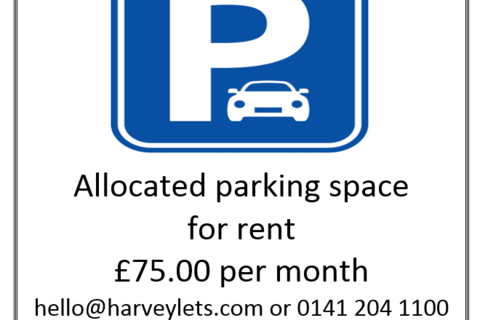 Parking to rent - Parking Space, Argyle Street, Finnieston, Glasgow, G3
