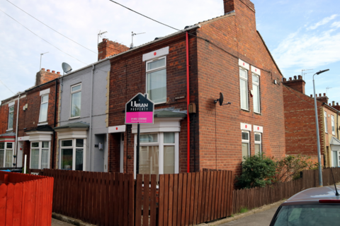 2 bedroom end of terrace house to rent - Park Grove, Wynburg Street, Hull, HU9 2PD