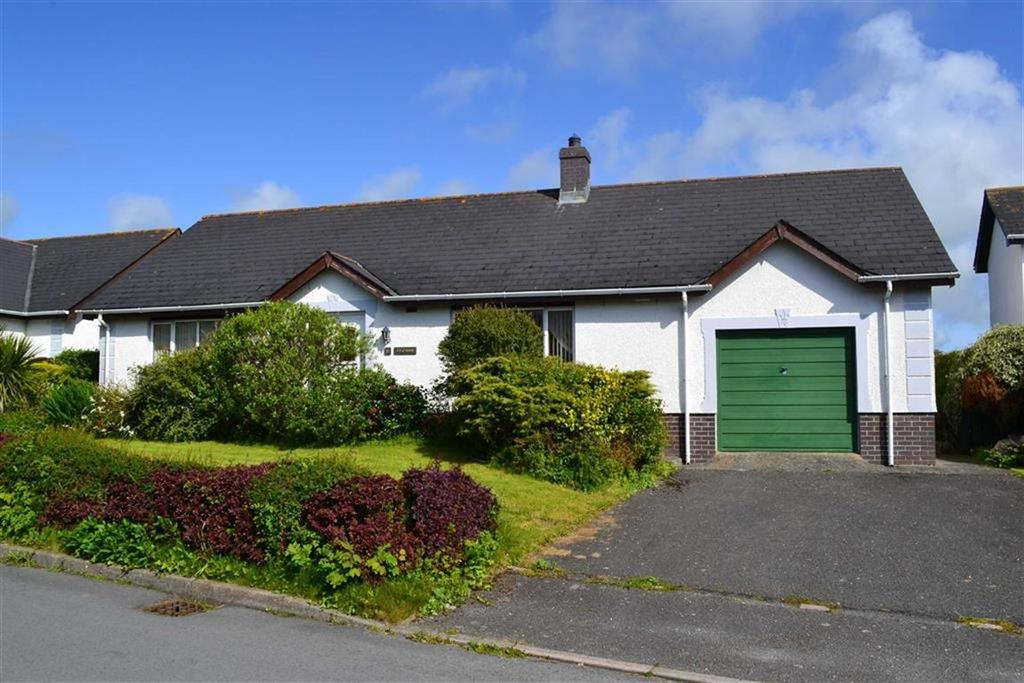 3 Bedrooms Detached Bungalow for sale in Parc Ffos, Aberaeron, Ceredigion