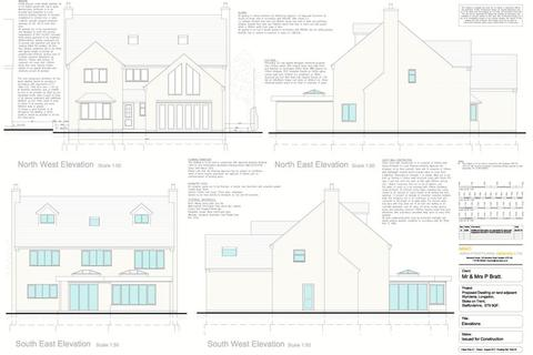 6 bedroom property with land for sale - Building Plot 3, Leek Road, Longsdon, ST9