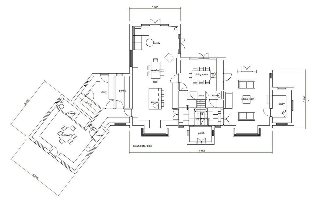 Floorplan 1 of 2: Ground Floor plan.