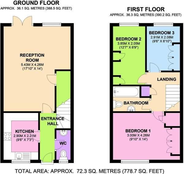 Floorplan 2 of 2: Main floor plan