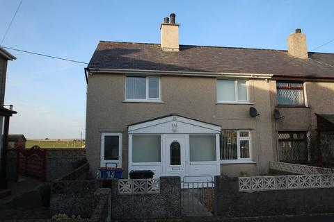 3 bedroom semi-detached house for sale - Maes Llewelyn, Aberffraw,