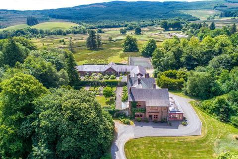 9 bedroom equestrian property for sale - Slogarie House, Mossdale, Castle Douglas, Kirkcudbrightshire, DG7