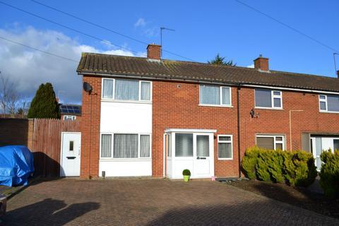 3 bedroom end of terrace house for sale - Bourne Crescent, Kings Heath, Northampton NN5 7JD
