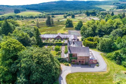 9 bedroom detached house for sale - Slogarie House & The Coach House, Mossdale, Castle Douglas, Dumfries and Galloway, DG7