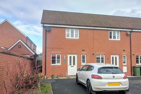 2 bedroom terraced house for sale - Meadow Way, Saxongate, Hereford