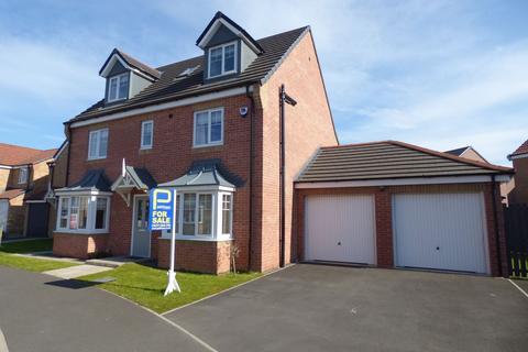 5 bedroom detached house for sale - Kirkharle Crescent, Ashington, Northumberland, NE63 8SL