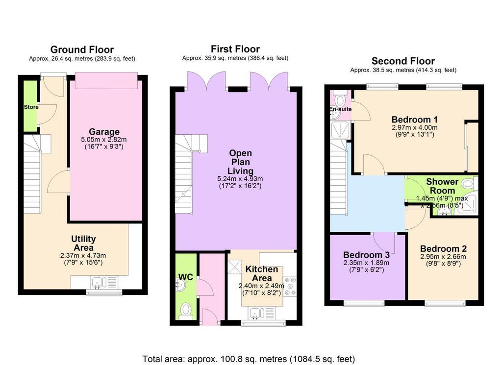 Floorplan 1 of 2: 2 D Floor Plan
