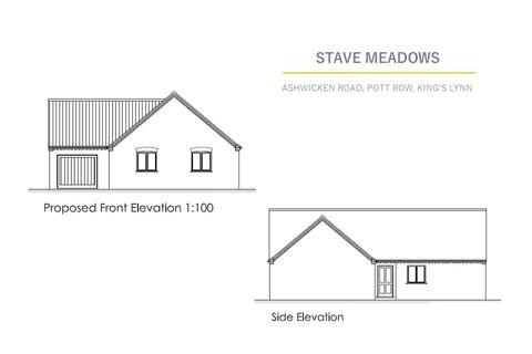 3 bedroom detached bungalow for sale - Ashwicken Road, Pott Row