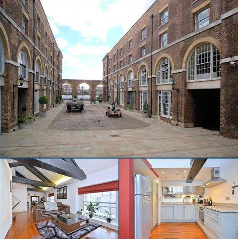1 bedroom flat for sale - The Listed Building, 350 The Highway, Wapping, London, E1W