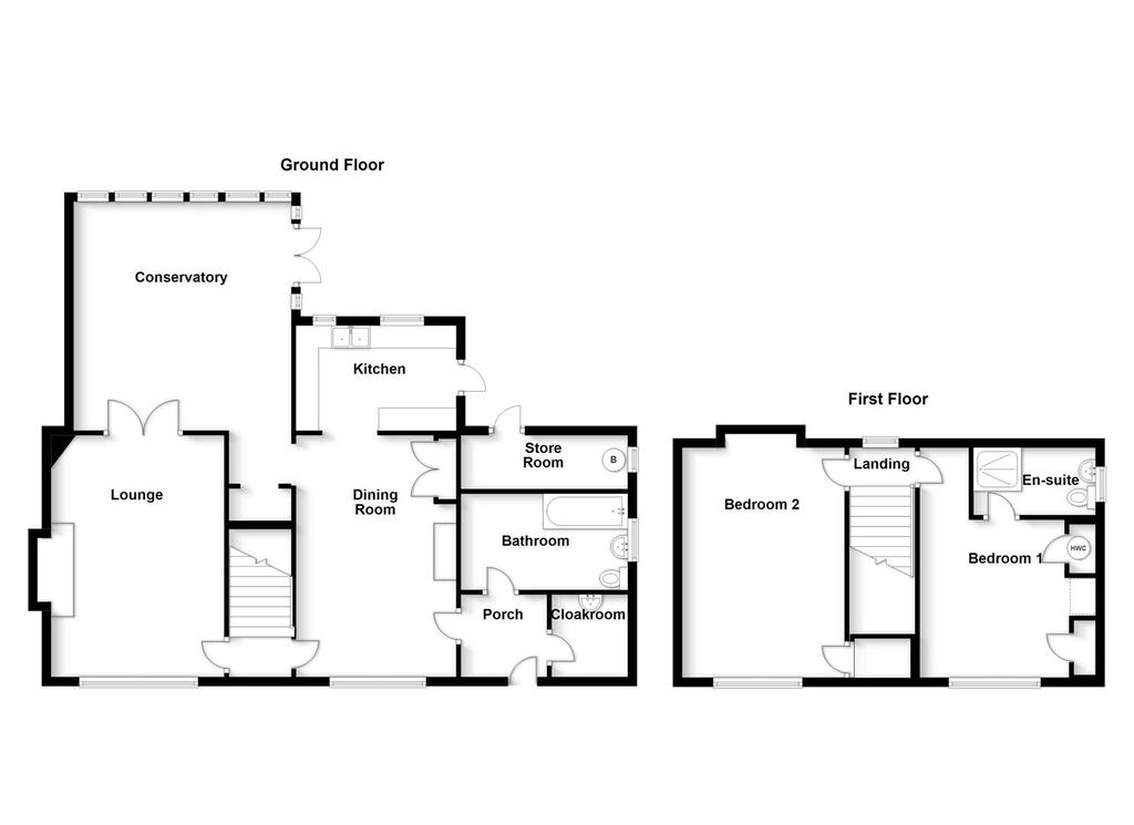 Floorplan: Church Farm cottage, Church Street, Barkston, Gran