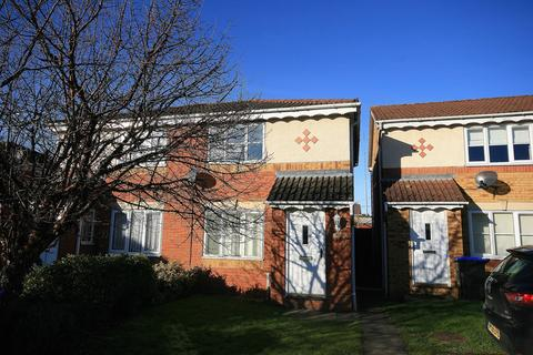2 bedroom semi-detached house for sale - Curlbrook Close, Wootton, Northampton, NN4