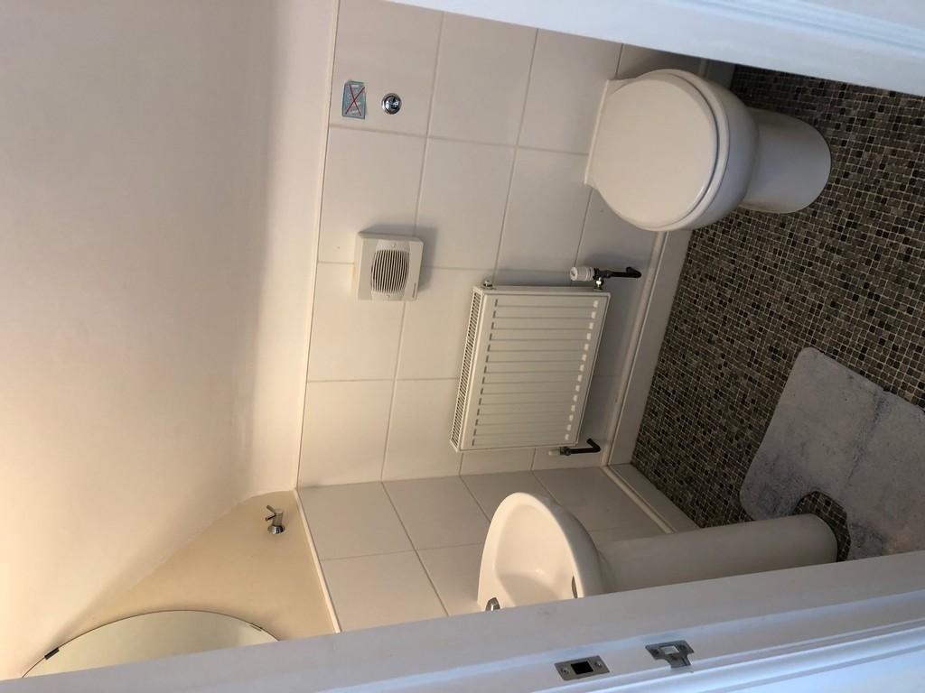 WC in attic room