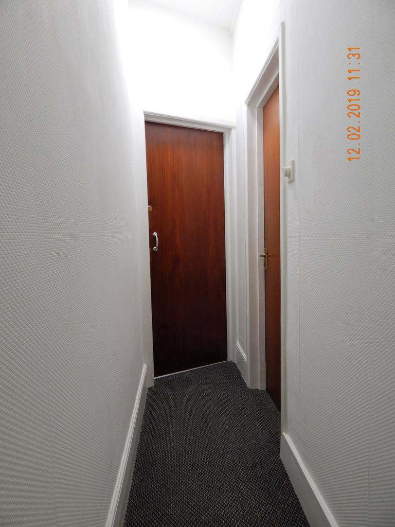 Front entrance to Flat