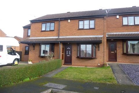 2 bedroom terraced house to rent - Warren Close, Gainsborough, DN21 2UD