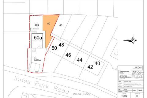 Plot for sale - Plot of Land, 50A Innes Park Road, Skelmorlie, PA17 5BA