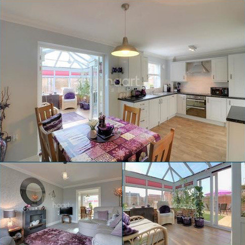 3 bedroom detached house for sale - Dudley Close, IP25