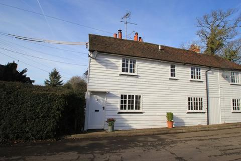 2 bedroom semi-detached house for sale - Island Cottage, Quaker Lane, Cranbrook, Kent, TN17 2HF