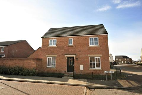 3 bedroom detached house for sale - Darter Way, Pineham, Northampton, NN4