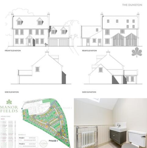 6 bedroom detached house for sale - The Dunston, Plot 27 Manor Fields