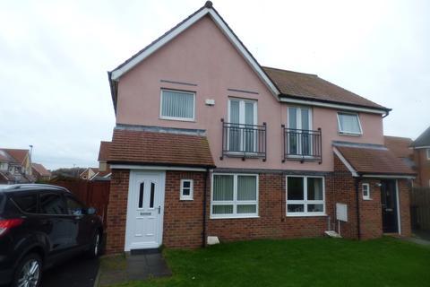 3 bedroom semi-detached house to rent - Howard Walk, Ashington, Northumberland, NE63 9FP