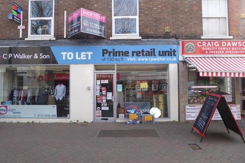 Retail property (high street) to rent - 74 High Road, Beeston, NG9 2LF
