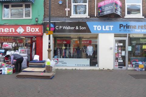 Retail property (high street) to rent - 76 High Road, Beeston, NG9 2LF