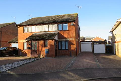 2 bedroom semi-detached house for sale - Bollinger Close, Northampton, NN5