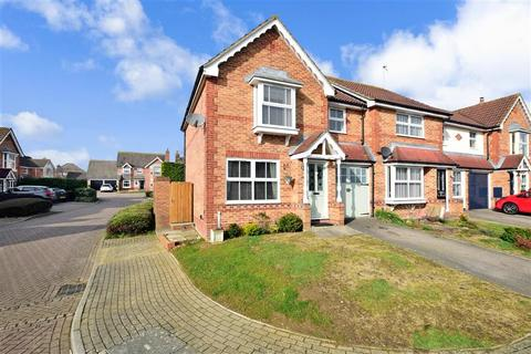 3 bedroom end of terrace house for sale - Saxon Close, Kings Hill, West Malling, Kent