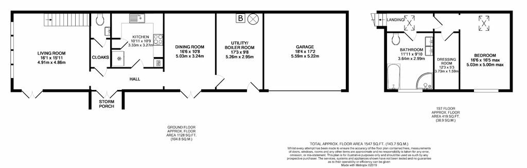 Floorplan 2 of 2: Annexe