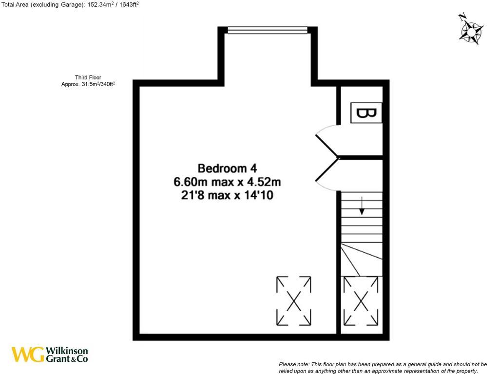 Floorplan 4 of 4: Third Floor